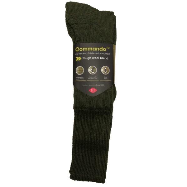 Commando-Sock-Green