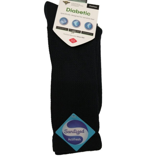 Diabetic-Sock-Black