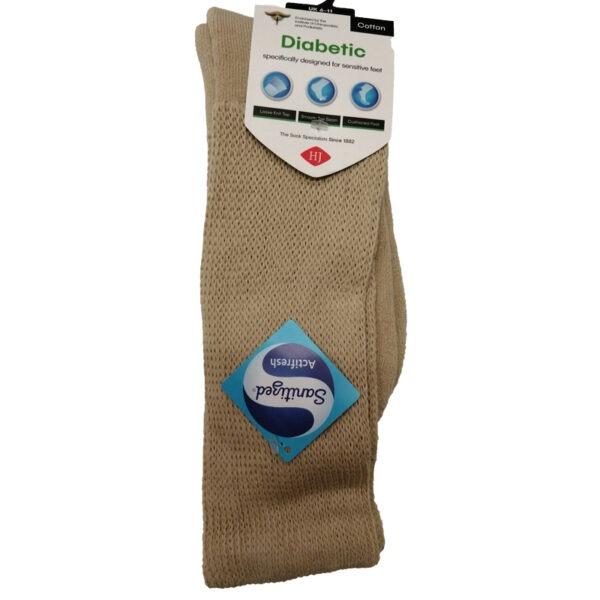 Diabetic-Sock-Beige