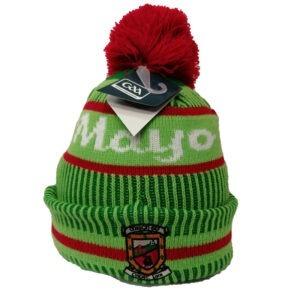 Mayo-GAA-Kids-Bobble-Hat